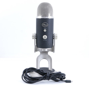 Blue Yeti Pro XLR & USB Condenser Multi-Pattern Microphone MC-2965