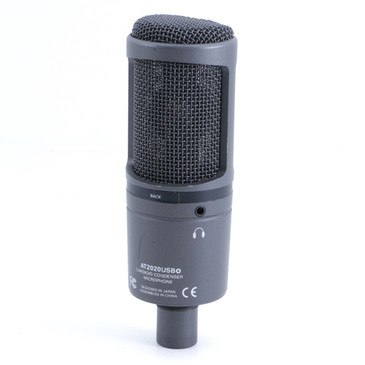 Audio-Technica AT2020USB+ Condenser Cardioid Microphone MC-2961