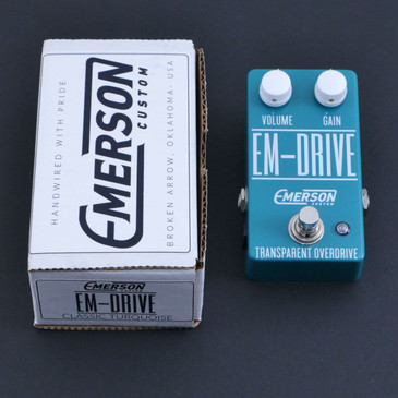 Emerson Custom EM-Drive Overdrive Guitar Effects Pedal P-06714