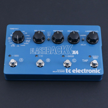 TC Electronic Flashback X4 Delay Guitar Effects Pedal P-06710