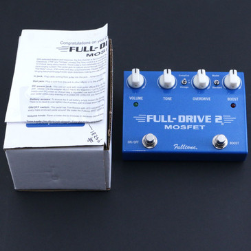 Fulltone FD-2 Full-Drive 2 Overdrive Guitar Effects Pedal P-06711