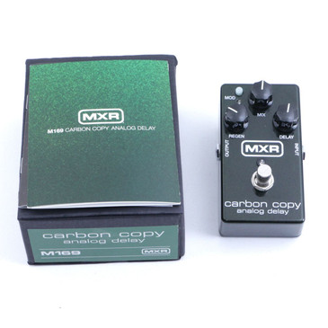MXR M169 Carbon Copy Delay Guitar Effects Pedal P-06705