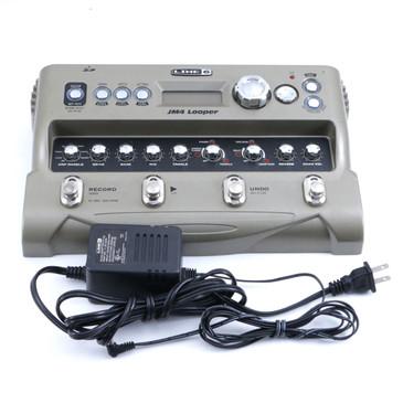 Line 6 JM4 Looper Guitar Effects Pedal & Power Supply P-06727