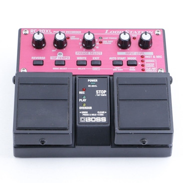 Boss RC-20XL Loop Station Looper Guitar Effects Pedal P-06722