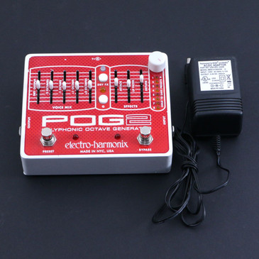 Electro-Harmonix POG2 Polyphonic Octave Generator Guitar Effects Pedal P-06742