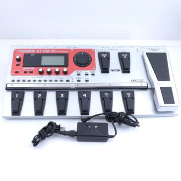 Boss GT-10B Guitar Multi-Effects Pedal & Power Supply P-06737
