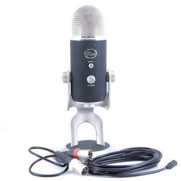 Blue Yeti Pro XLR & USB Condenser Multi-Pattern Microphone MC-2995
