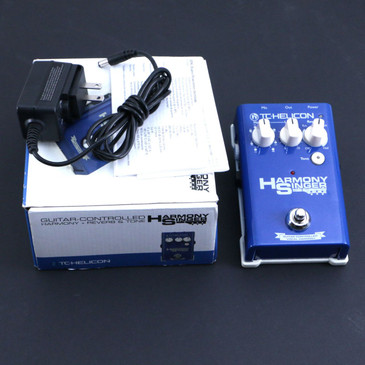TC Helicon Harmony Singer Vocal Effects Pedal & Power Supply P-06774