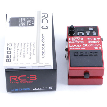 Boss RC-3 Loop Station Looper Guitar Effects Pedal P-06769