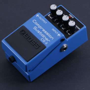Boss CS-3 Compression Sustainer Guitar Effects Pedal P-06760