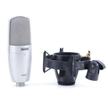 Shure SM27 Condenser Cardioid Microphone MC-3007