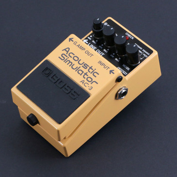 Boss AC-3 Acoustic Simulator Guitar Effects Pedal P-06852