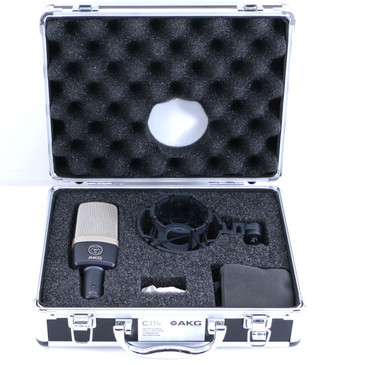 New!! AKG C314 Condenser Multi-Pattern Microphone MC-3051