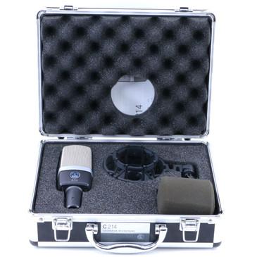 AKG C214 Condenser Cardioid Microphone MC-3071