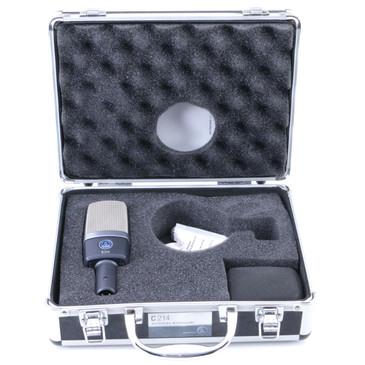 AKG C214 Condenser Cardioid Microphone MC-3106