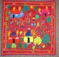 """Art Embroidery Panel """"La Violencia"""" #10"""