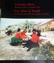 Book:  A Family Affair:  Making Cloth in Taquile, Peru