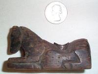 Maya Wood Pipe #4 -- Horse