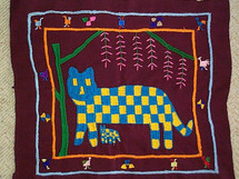 Santiago Atitlan Embroidery Panel #8