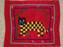 Santiago Atitlan Embroidery Panel #10