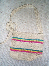 Small Boy's Morral made of Maguey