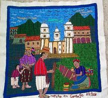Santiago Atitlan Embroidery by Petronilla #2