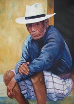 Juan Manuel Sisay -- Man from Santiago Atitlan