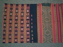 Timor antique Beboki village tube sarong