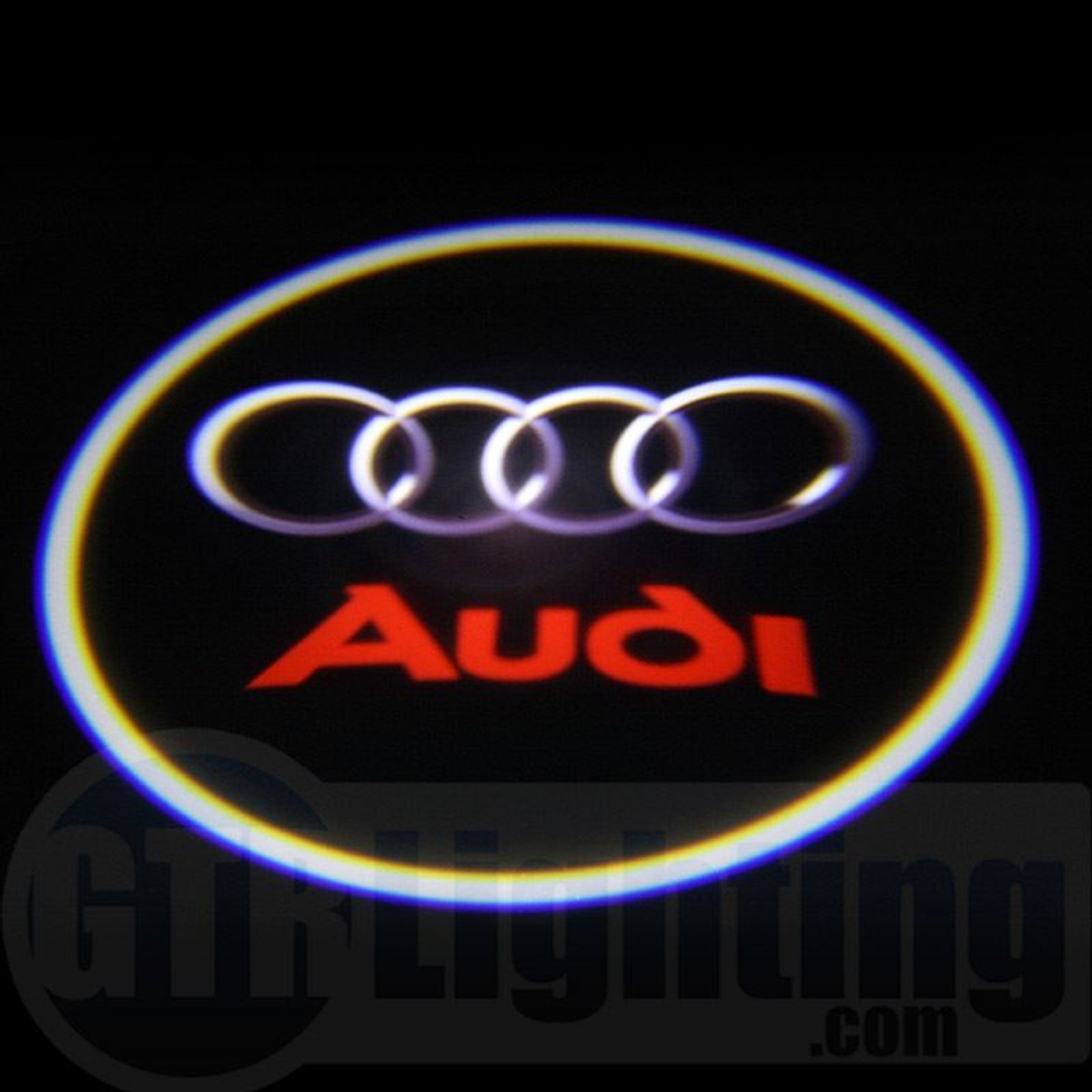 gtr lighting led logo projectors audi logo 41. Black Bedroom Furniture Sets. Home Design Ideas