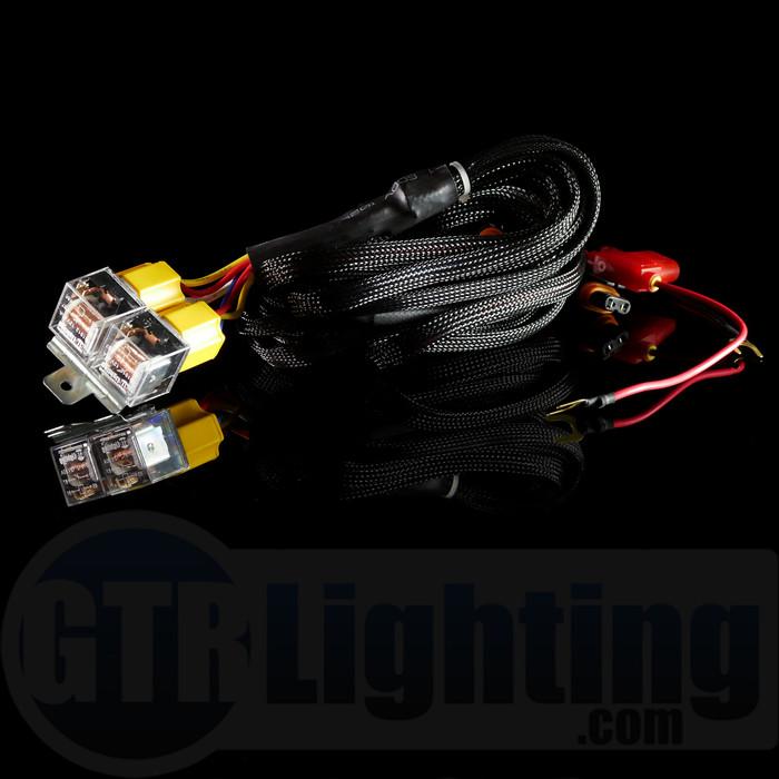 GTR Lighting Single Beam HID Relay Harness