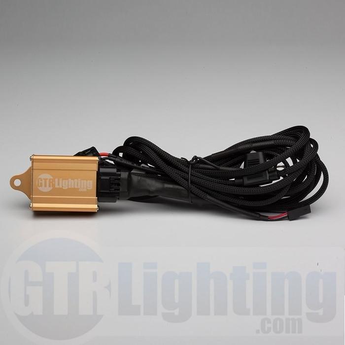 GTR Lighting Dual Beam HID Relay Harness - H4 Style