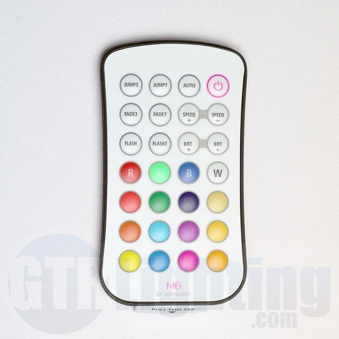 GTR Lighting 28-Button RF RGB LED Remote Control