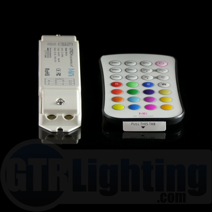 GTR Lighting 28-Button RF RGB LED Remote Control
