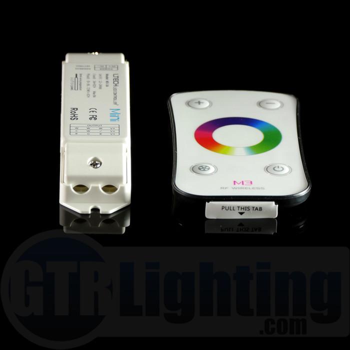 GTR Lighting Color-Wheel RF RGB LED Remote Control