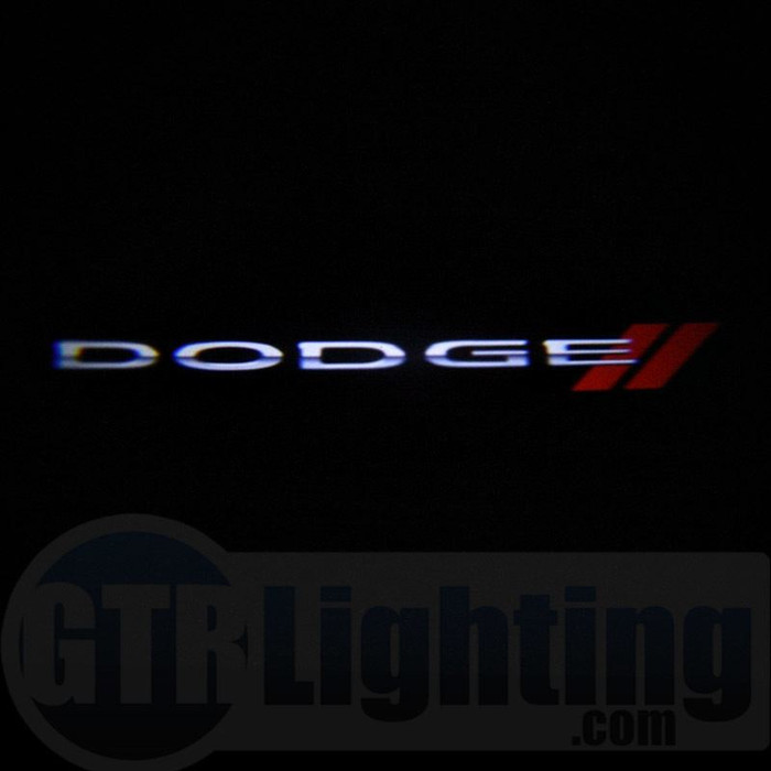 GTR Lighting LED Logo Projectors, Dodge Logo, #50