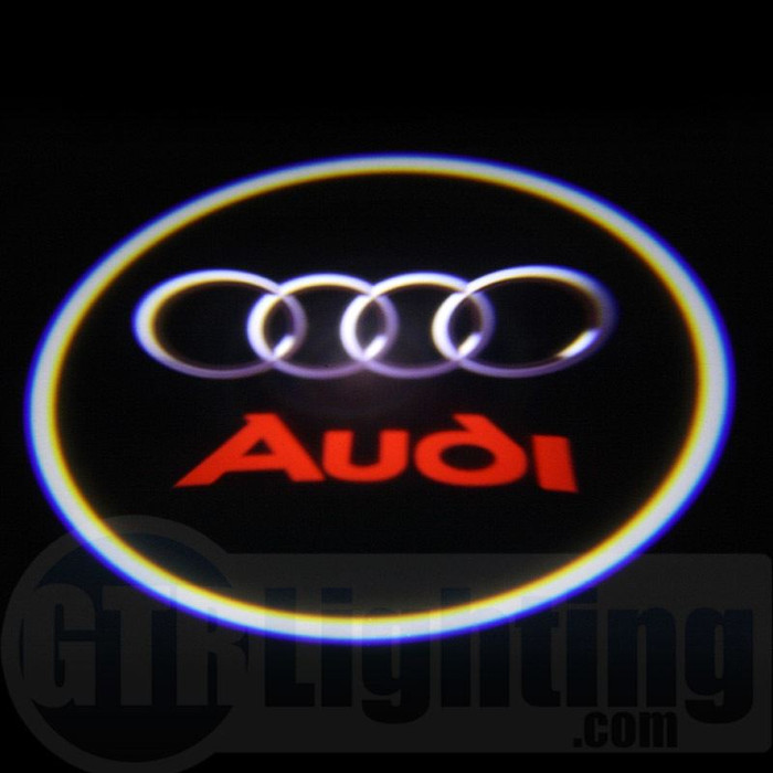 GTR Lighting LED Logo Projectors, Audi Logo, #41