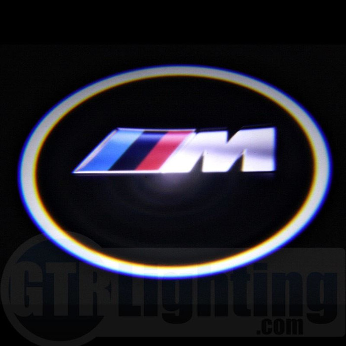 GTR Lighting LED Logo Projectors, BMW M-Power Logo, #40