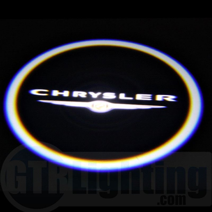 GTR Lighting LED Logo Projectors, Chrysler Logo, #15