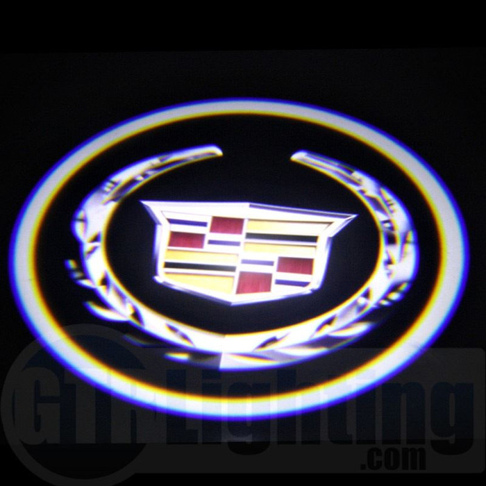 GTR Lighting LED Logo Projectors, Cadillac Logo, #20