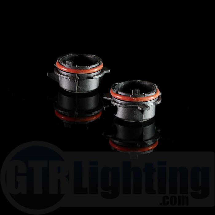 GTR Lighting BMW H7 HID Bulb Adapters (1995-2004 E39, 5-Series)