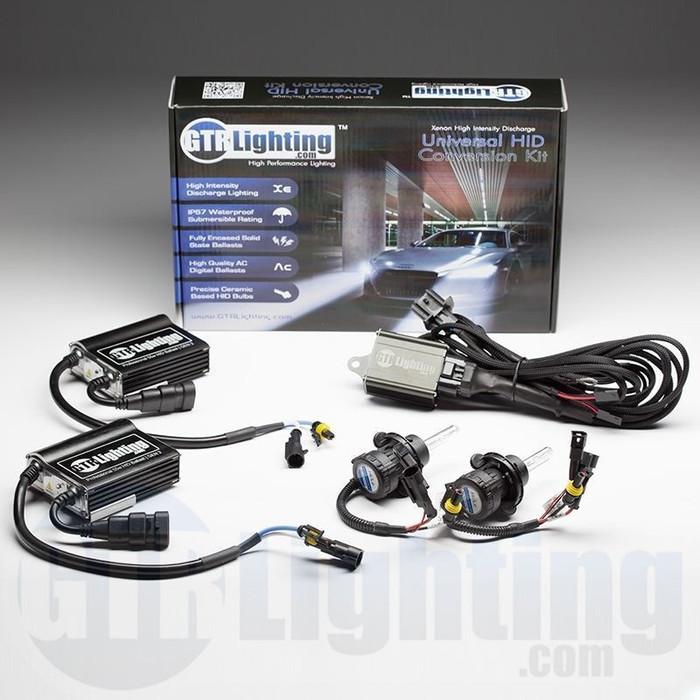 GTR Lighting 55w GEN 3 Dual Beam HID Conversion Kit