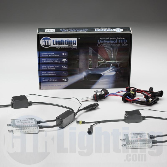 GTR Lighting 35w Hylux Single Beam CANBUS Slim HID Conversion Kit - 4th Generation