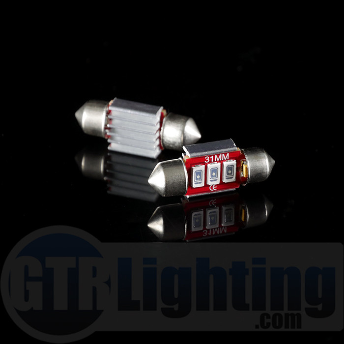 GTR Lighting 31mm Ultra Series Festoon LED Bulbs