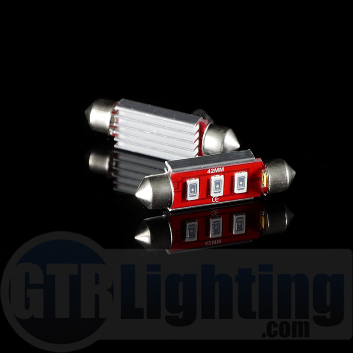 GTR Lighting 42mm Ultra Series Festoon LED Bulbs