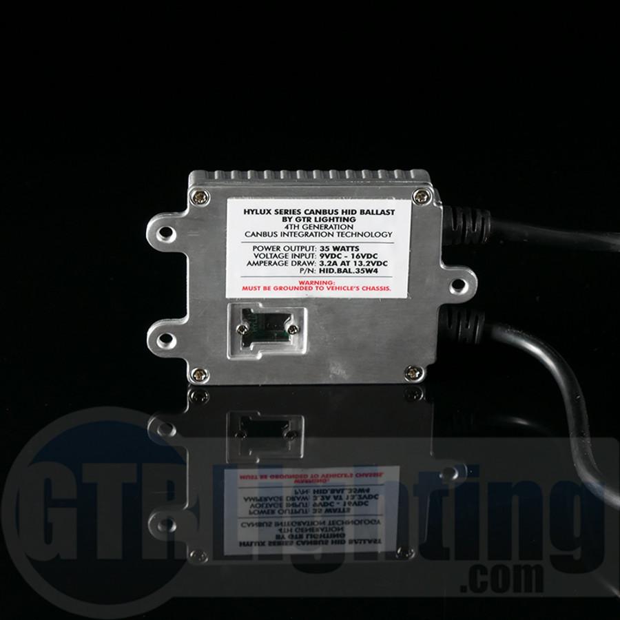 GTR Lighting Hylux Series 35w GEN 4 CANBUS HID Ballast