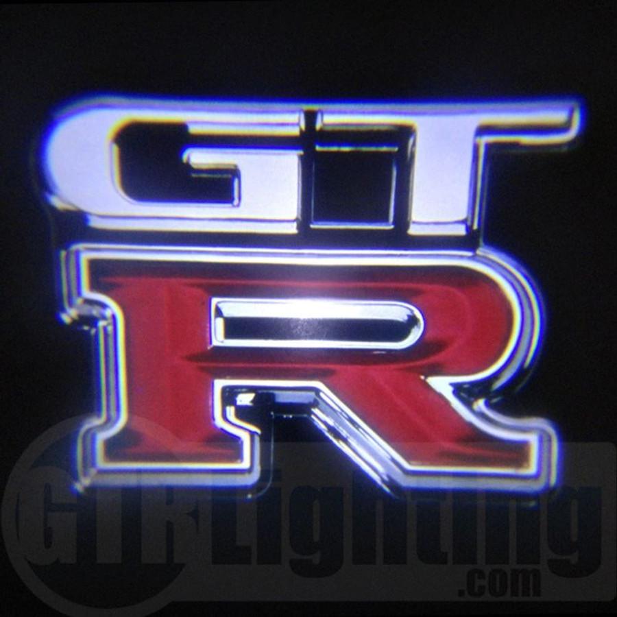 Nissan Skyline Gtr For Sale >> GTR Lighting LED Logo Projectors, Nissan GTR Logo, #60