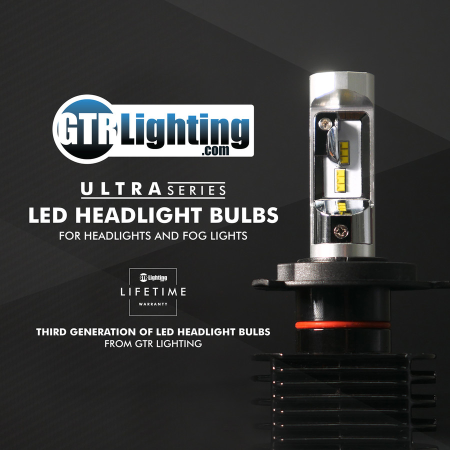 GTR Lighting Ultra Series LED Headlight Bulbs - 5202 / 2504 - 3rd Generation