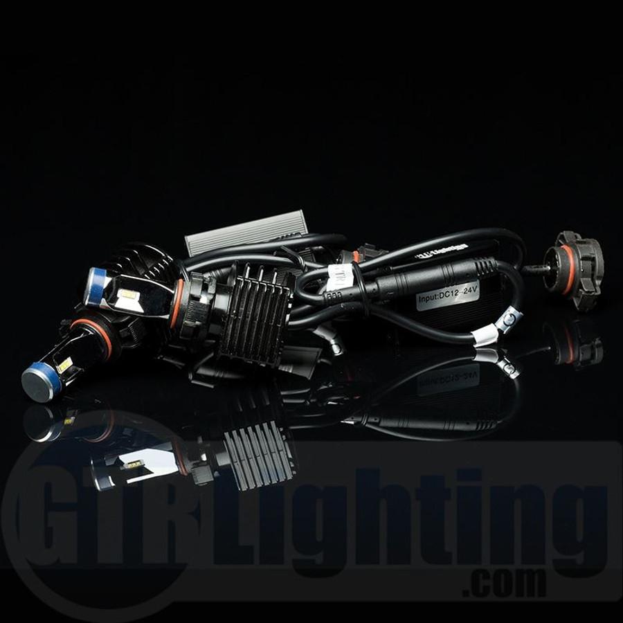GTR Lighting GEN 3 Ultra Series LED Headlight Bulbs - 5202 / 2504