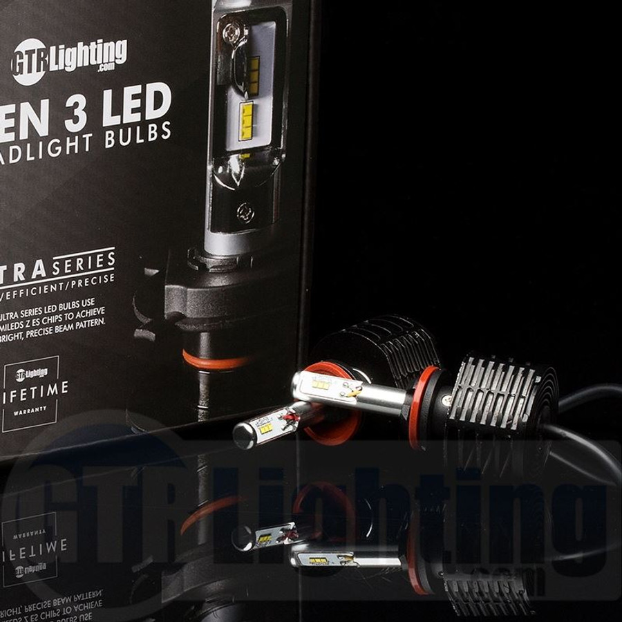 GTR Lighting GEN 3 Ultra Series LED Headlight Bulbs - 800 / 880