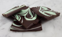 Dark Chocolate Mint Bark